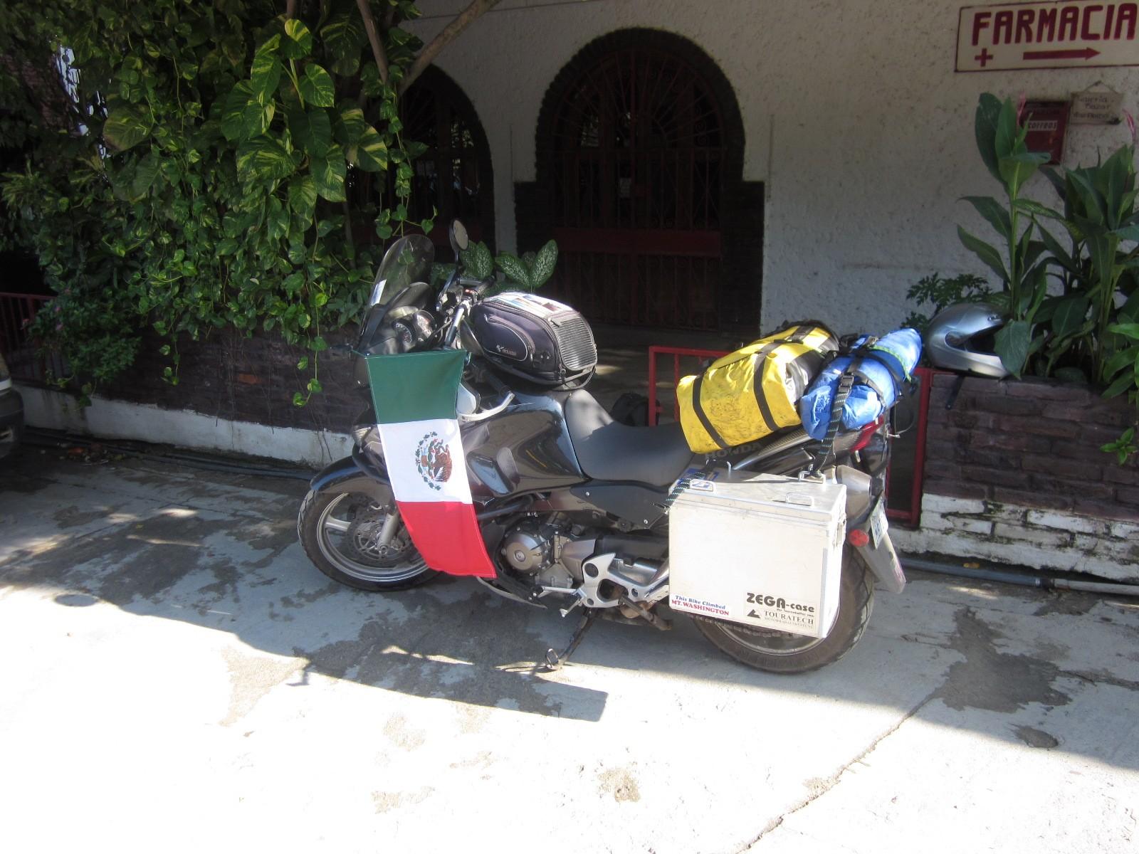 flag on bike
