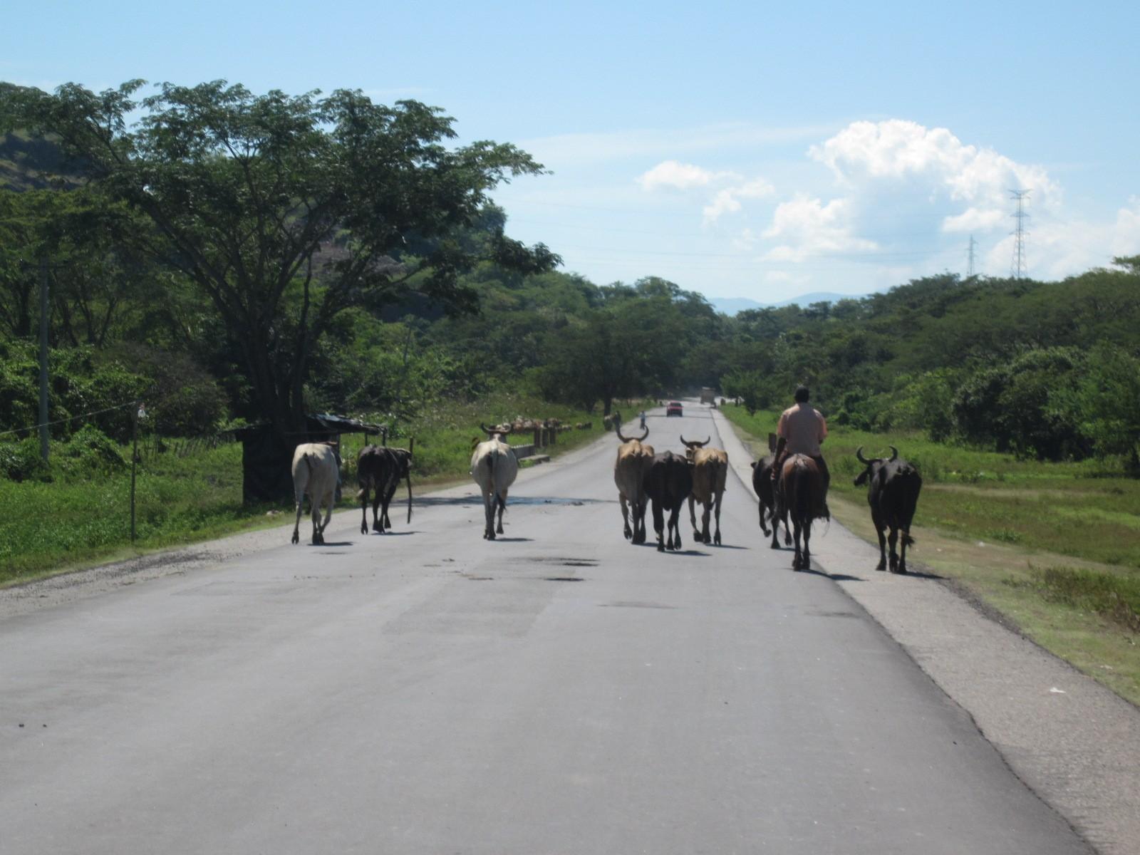 road to Managua