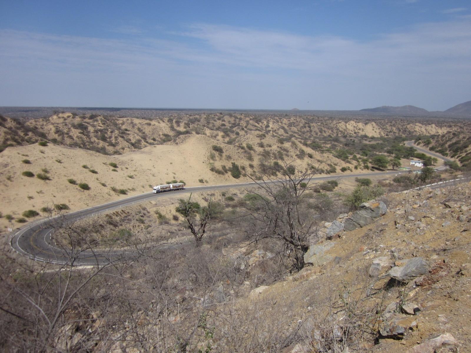 end of desert road