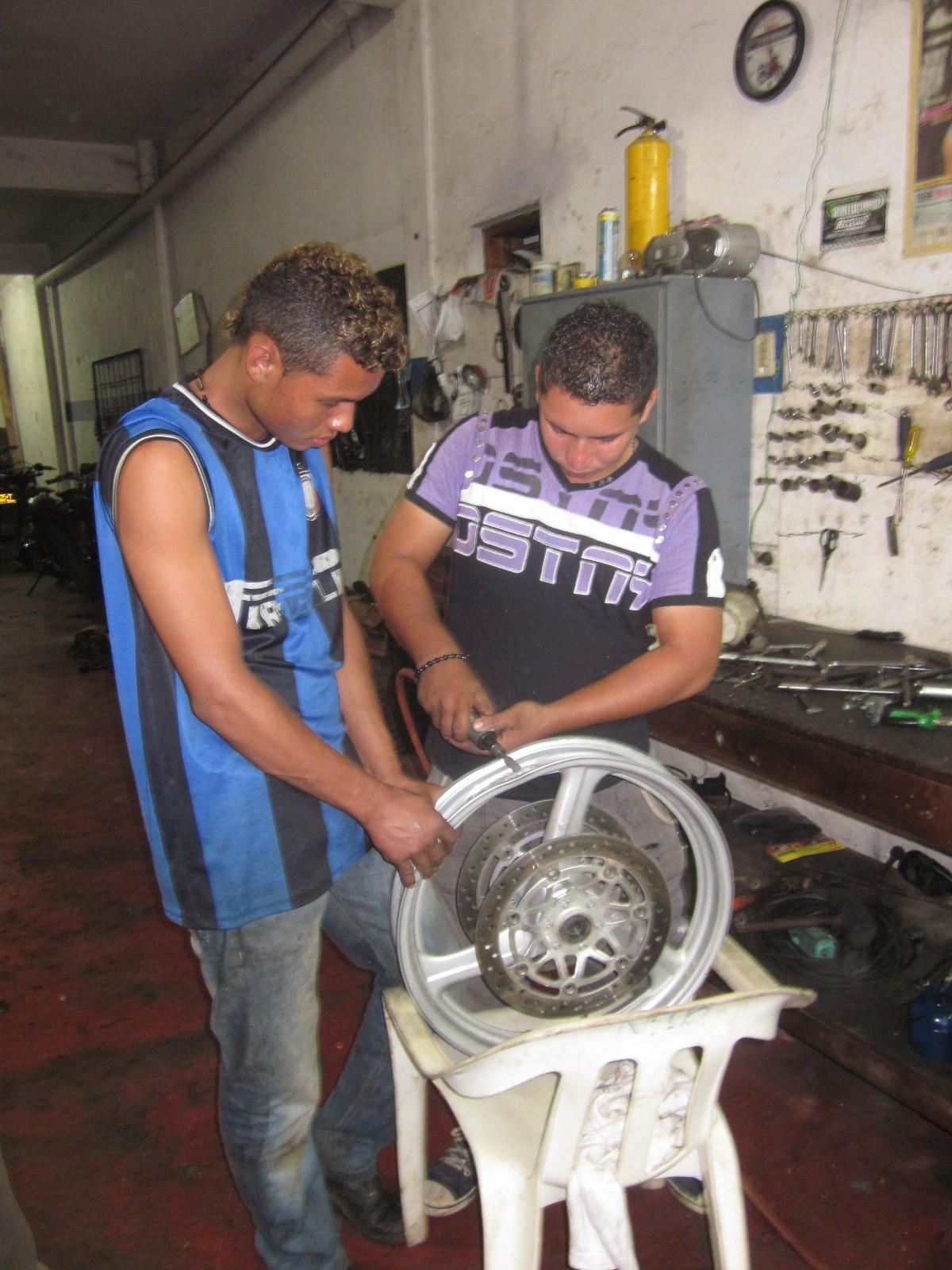 repairing rim